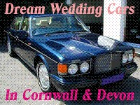 Dream Wedding Cars for your Wedding in Cornwall or Devon